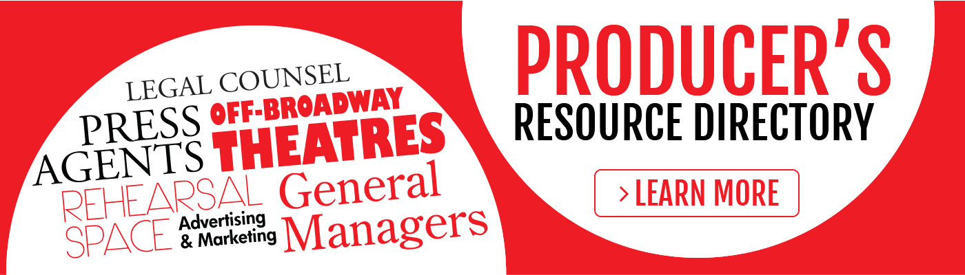 Producers Resource Directory - Off Broadway Alliance